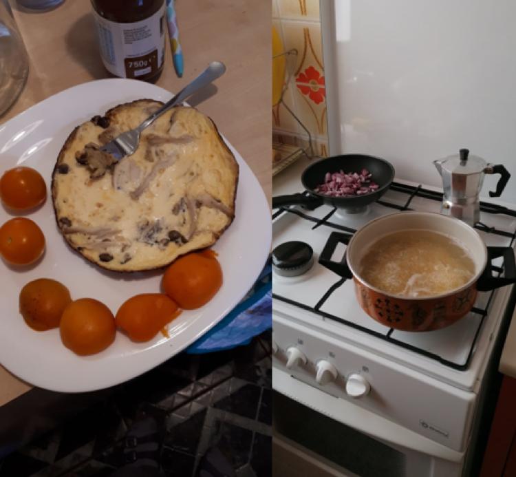 A képen étel, beltéri, tányér, asztal látható  Automatikusan generált leírás